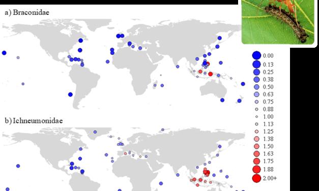 Santos et al. (2011 J Biogeogr) Species pool structure determines the level of generalism of island parasitoid faunas