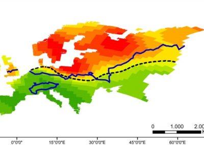 Calatayud et al (J Biogeogr 2016) Glaciations, deciduous forests, water and European Carabus diversity