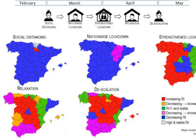 Santamaría & Hortal (Sci Tot Environ 2021) Effects of lockdown on COVID-19 effective reproduction number in Spain